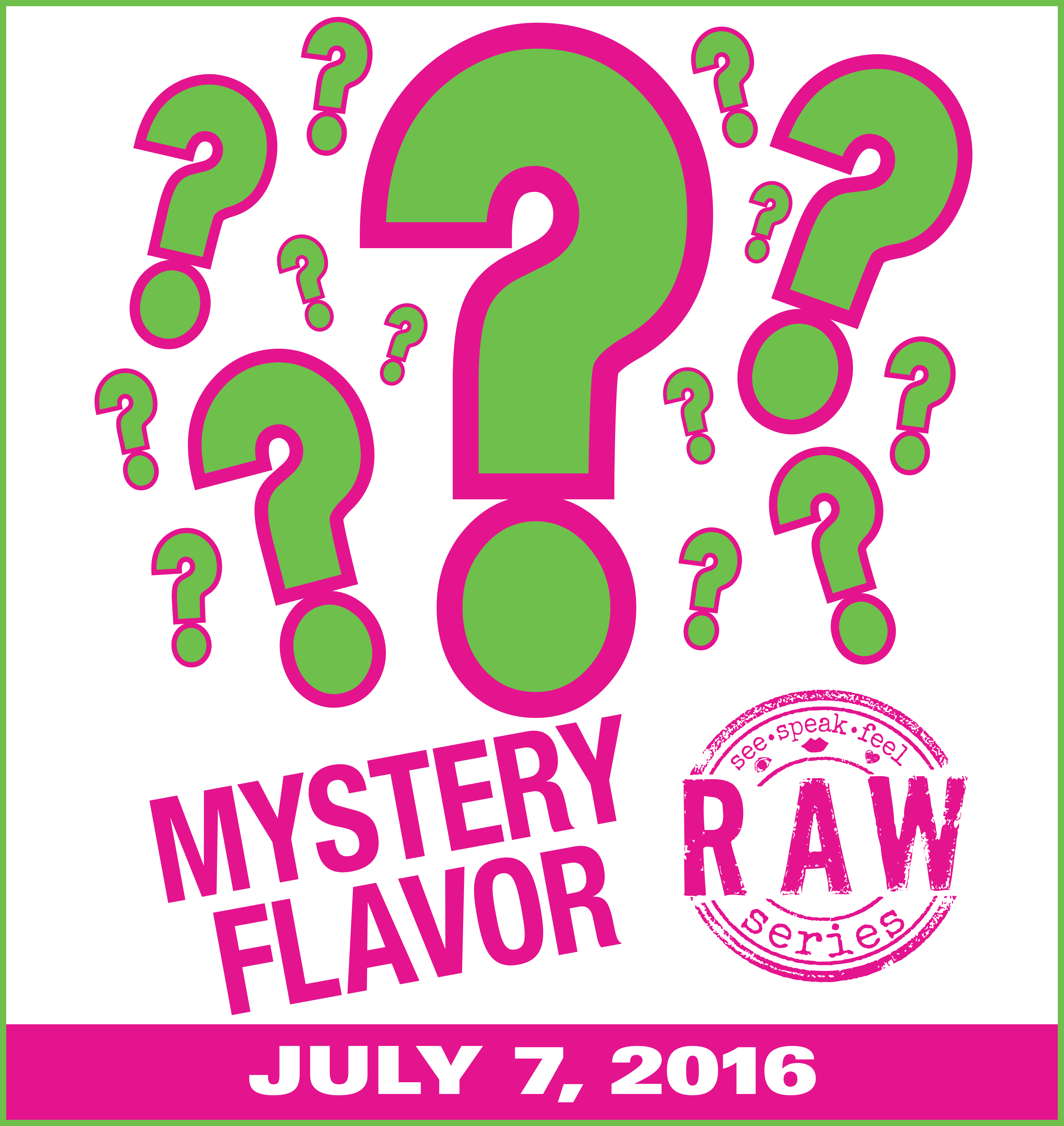 RAW Series: Mystery Flavor