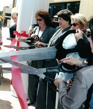 ribbon cutting new lawrence family jcc, san diego